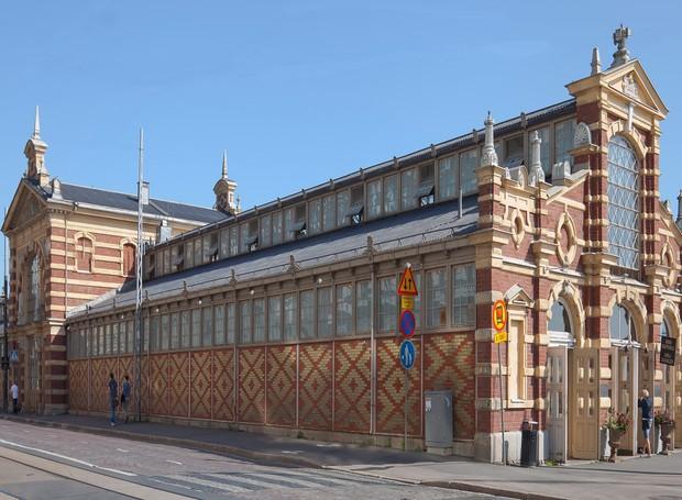 Old Market Hall, em Helsinque, na Finlândia (Foto: Casa e Jardim)