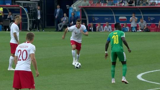 Polônia x Senegal - Copa do Mundo 2018 - globoesporte.com
