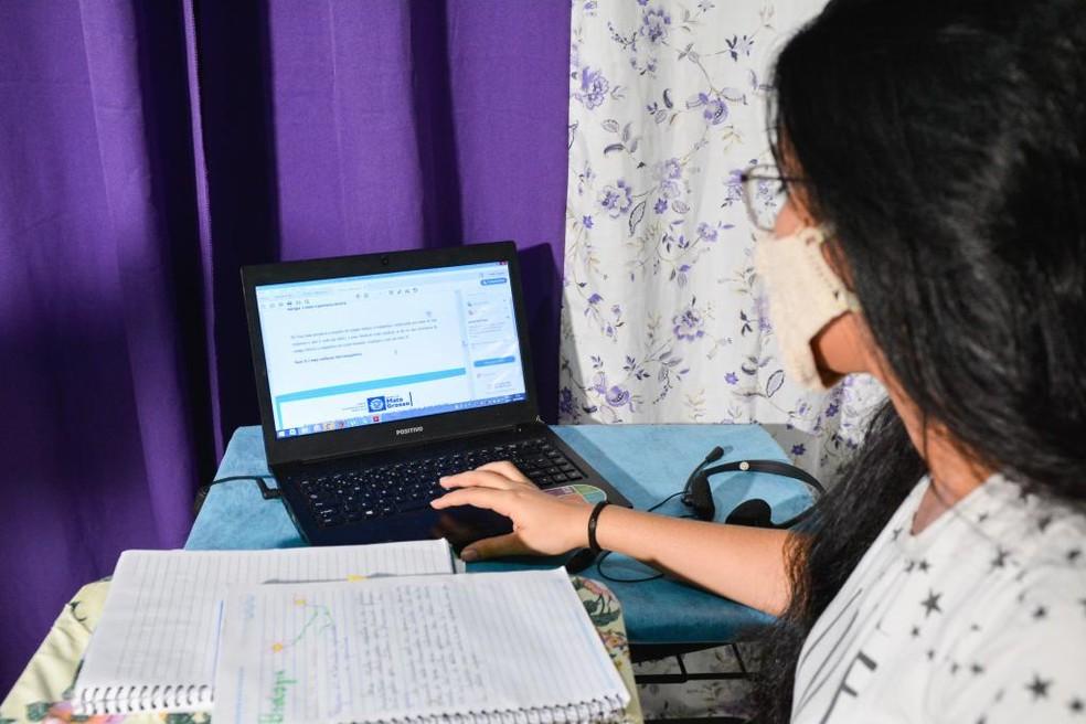 As aulas serão ofertadas de forma online e off-line — Foto: Assessoria
