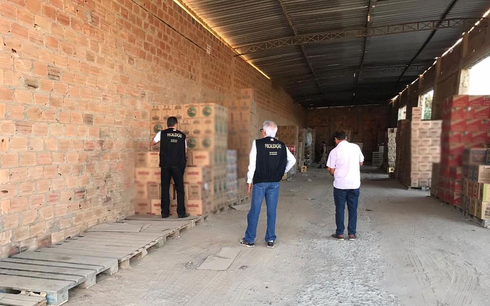Operação Sem Fronteira do MP, Sefaz e SSP-BA prendeu três e cumpriu mandados de busca e apreensão na Bahia — Foto: Divulgação/MP-BA