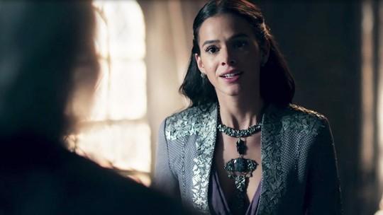 Princesa interpretada por Bruna Marquezine propõe revisão de acordo entre reinos