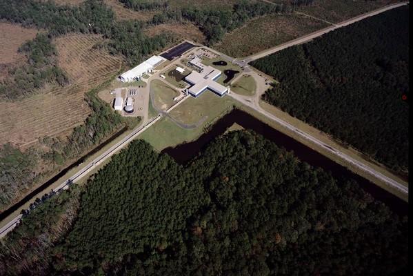 Observatório de ondas LIGO, nos Estados Unidos (Foto: altech/MIT/LIGO Lab/Wikipedia Commons)