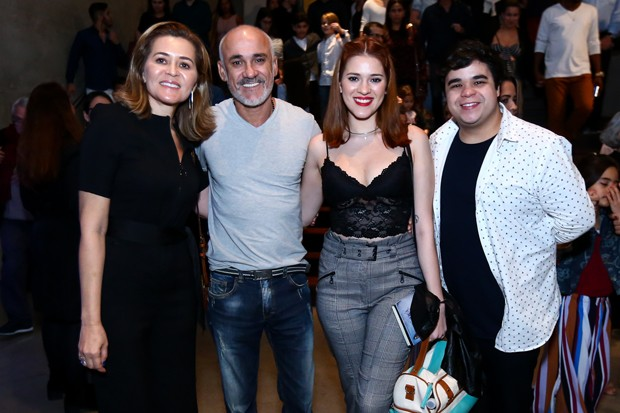 Eva, Ayrton, Ana Clara e Jorge Lima (Foto: Roberto Filho/Brazil News)