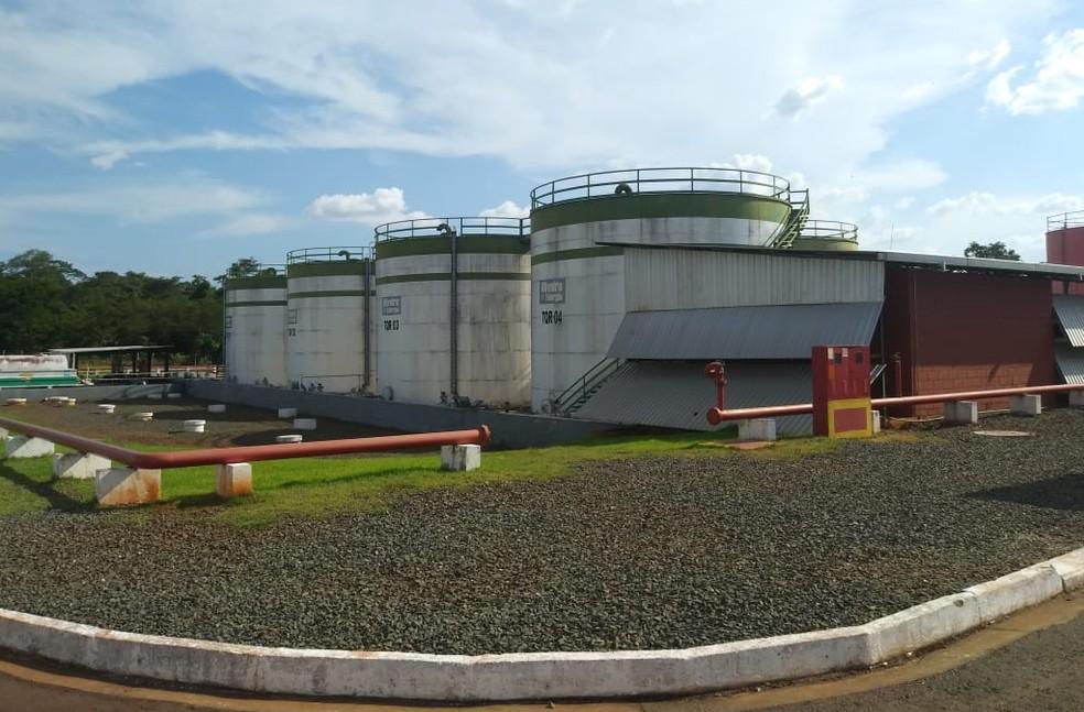 Termelétrica de Monte Cristo, em Boa Vista, capital de Roraima, é principal usina do parque gerador do estado — Foto: Jackson Félix/G1 RR