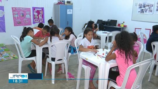 Grupo Mexendo Panela cria espaço para recreação de crianças venezuelanas em Boa Vista