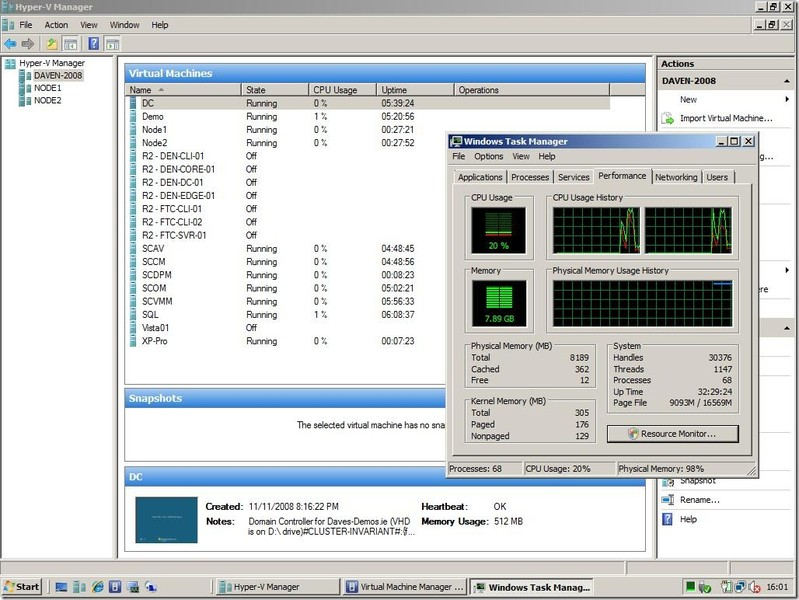 Hyper-V Manager | Download | TechTudo