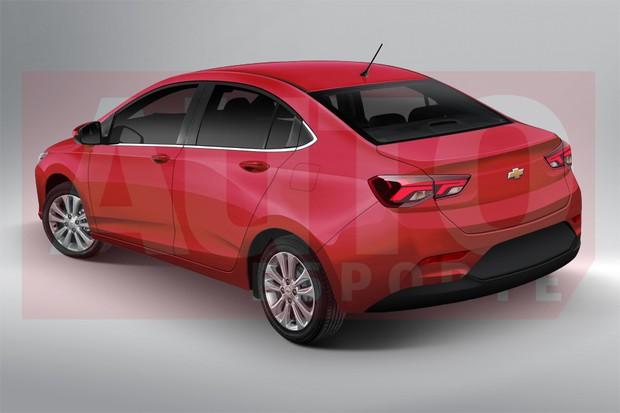 Novo Chevrolet Prisma será mais ousado, terá tamanho de ...