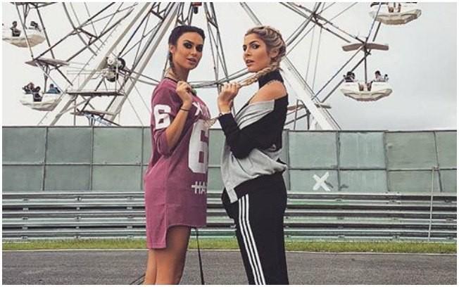 Thaila Ayala e Julia Faria (Foto: Reprodução)