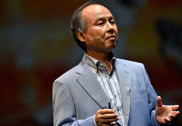 Masayoshi Son, CEO do SoftBank Group Corp. (Foto: Koki Nagahama/ Getty Images)