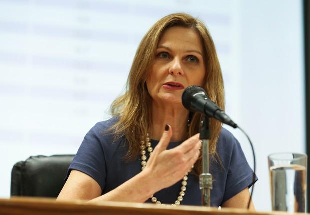 A secretária do Tesouro Nacional, Ana Paula Vescovi (Foto: Fabio Rodrigues Pozzebom/Agência Brasil)