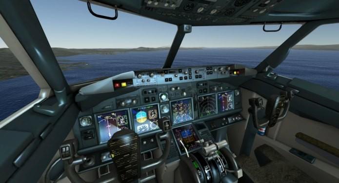 Simulador de voo para Android se destaca pelo realismo (Foto: Divulgação)