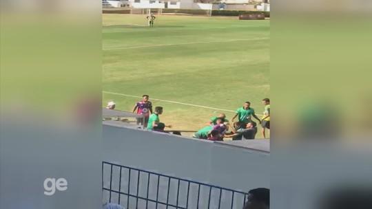 Disputa por vaga nas finais de campeonato de várzea termina em pancadaria em Mirassol