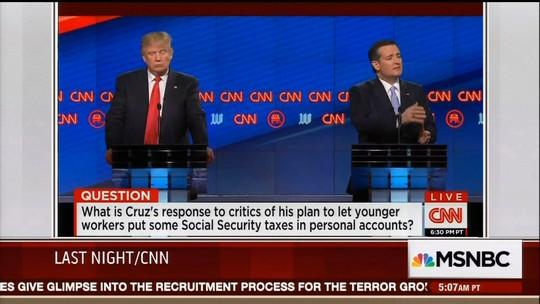 Debate republicano tem menos ataques pessoais e mais discussões políticas