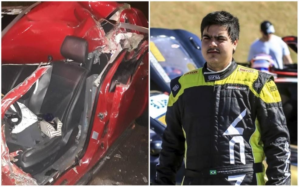 Piloto de stock car morreu em acidente na Anhanguera, em Jundiaí — Foto: Arquivo Pessoal