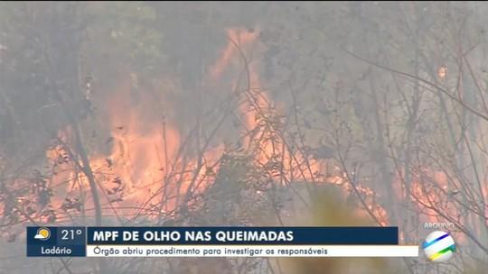MPF vai apurar responsabilidades sobre queimadas no Pantanal