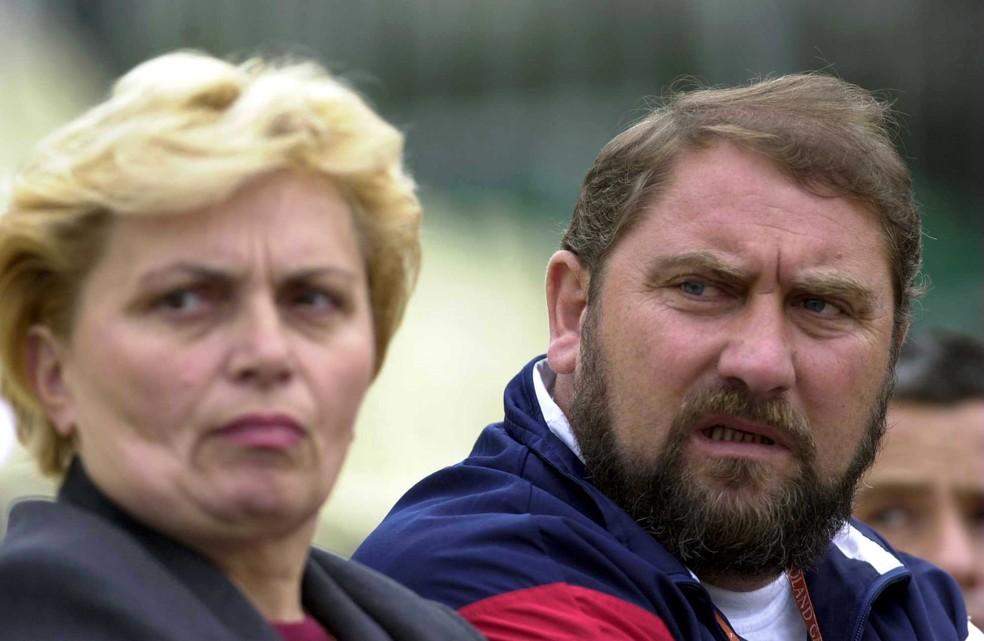 Damir Dokic, pai de Jelena, fez da vida da filha um inferno com agressões diárias durante a carreira da ex-tenista  (Foto: Getty Images)