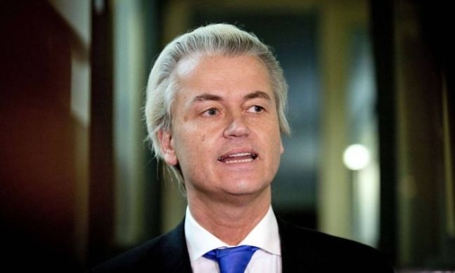 Geert Wilders, do Partido holandês (Foto: Valerie Kuypers / AFP)