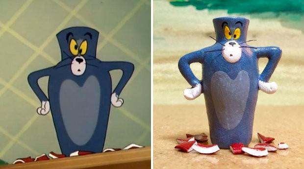 Artista japonesa decidiu homenagear Tom & Jerry em nova coleção (Foto: Divulgação)