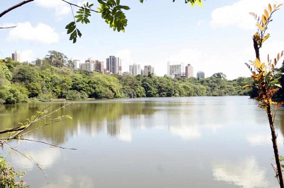 O Parque do Ingá, na região central de Maringá — Foto: Prefeitura de Maringá/Divulgação