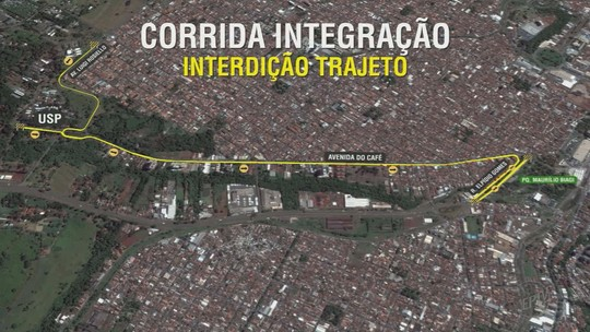 Corrida Integração: veja as ruas e avenidas que ficam interditadas durante a prova