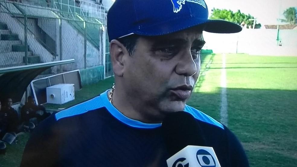Marcelo Cabo destaca novo sistema de disputa nas semifinais — Foto: Reprodução TV Gazeta