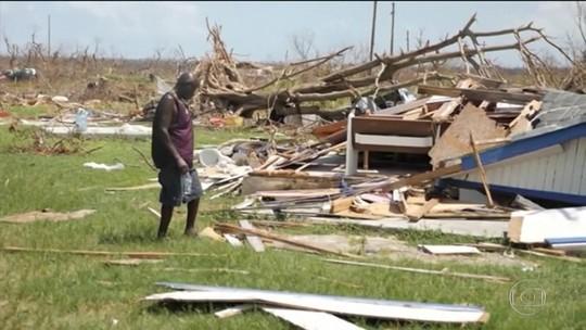 Nova tempestade atinge áreas das Bahamas devastadas pelo furacão Dorian