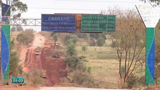 Clima entre fazendeiros e indígenas volta a ficar tenso um ano após morte em Caarapó, MS
