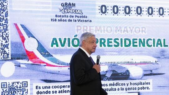 Foto: (HO/Presidência do México/AFP)