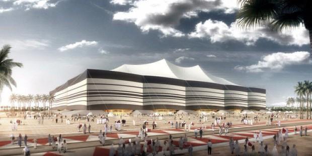 Al Bayt Stadium (Foto: Divulgação / Comitê Supremo de Entrega e Legado)