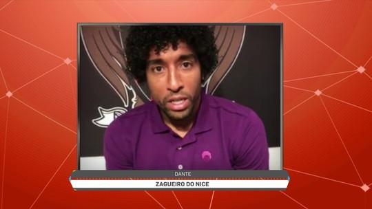 Feliz, líder e capitão, Dante diz que tomou a decisão certa ao ir para o Nice