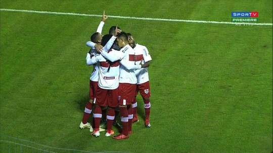 """Felipe Ferreira garante mudança de postura do time após retorno: """"Vão ver um CRB mais intenso"""""""