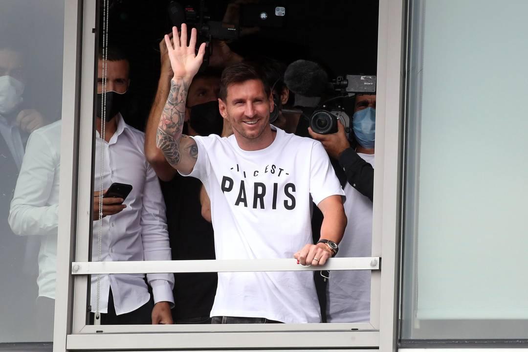 Messi Paris PSG