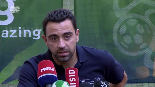 """Xavi aprova mudança de técnico na Espanha: """"Decisão inesperada, mas oportuna"""""""