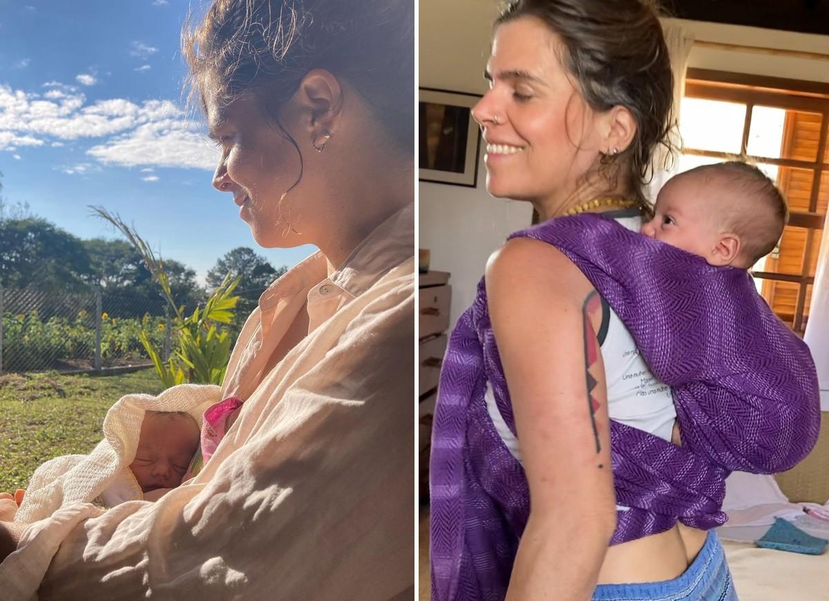 Mariana Maffeis com o filho caçula Varuna (Foto: Reprodução/Instagram)