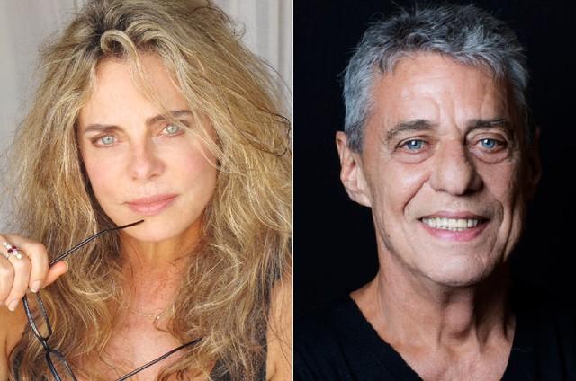 Bruna Lombardi e Chico Buarque (Foto: Divulgação e Leo Aversa)
