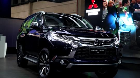 Mitsubishi renova linha para o Salão e revela novo Pajero Sport