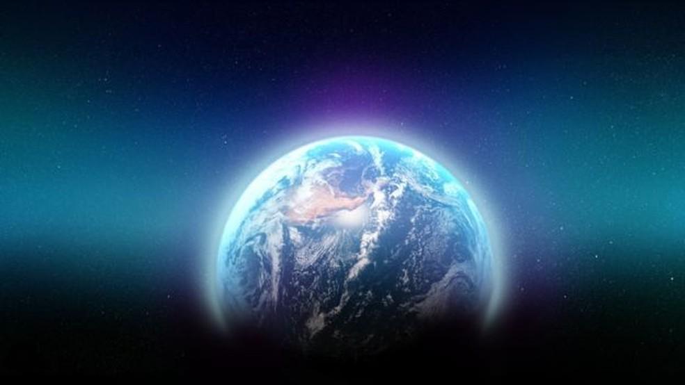 A camada de ozônio protege a Terra de raios nocivos do sol — Foto: Getty via BBC