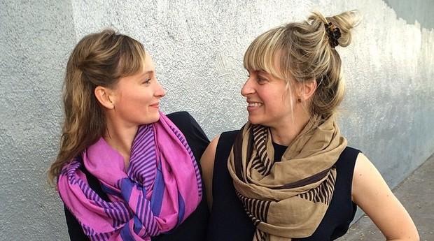 Lily e Hopie Stockman, da Block Shop (Foto: Heather)