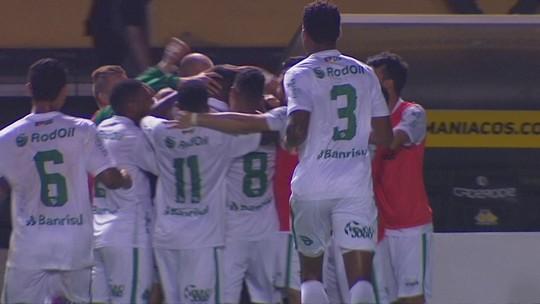 Os gols de Criciúma 1 x 2 Juventude pela 24ª rodada da Série B do Brasileiro