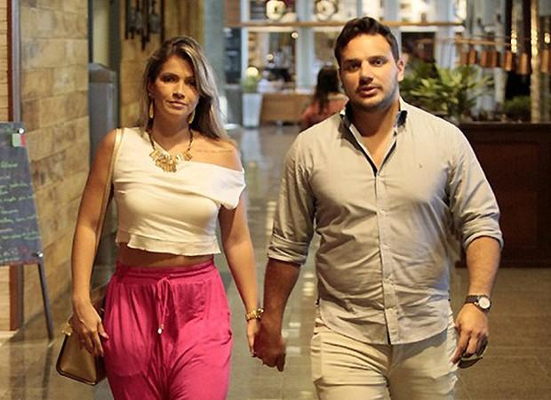Fani Pacheco e Leandro Dias (Foto: Reprodução)
