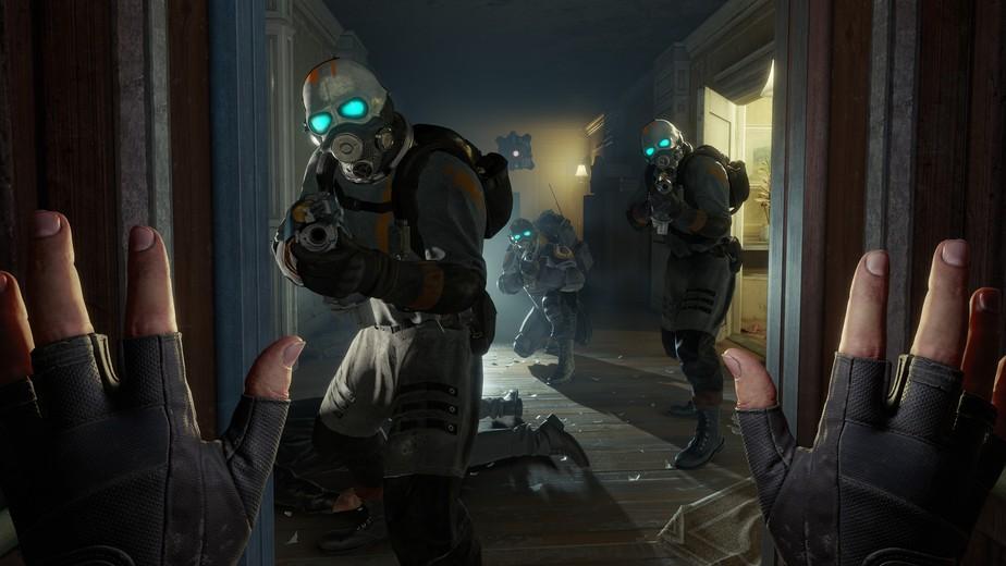 Half-Life: Alyx é o novo jogo da série que chega antes do Half-Life 3