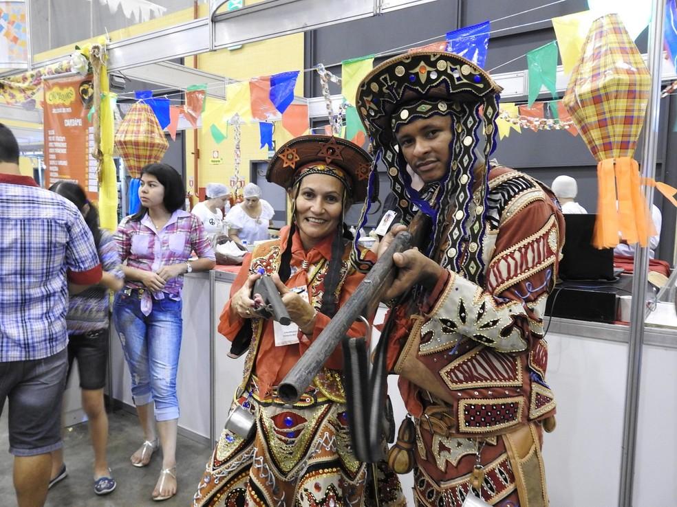 Grupos de quadrilha e ciranda prometem animar as festas Julinas em Manaus (Foto: Ive Rylo/ G1 AM)