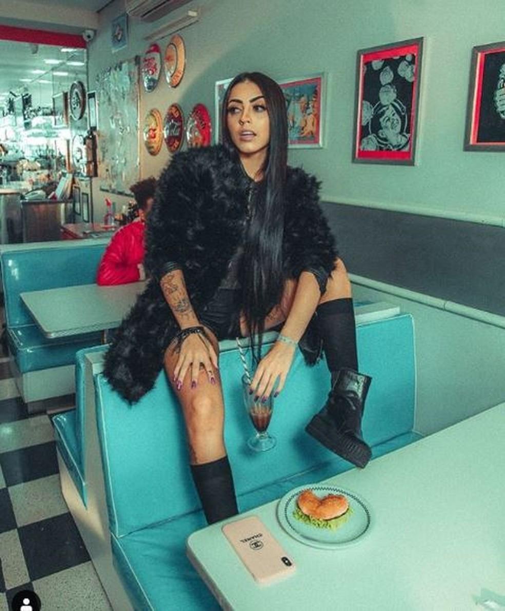 MC Mirella, uma das artistas contratadas recentemente pela GR6 — Foto: Reprodução/Instagram