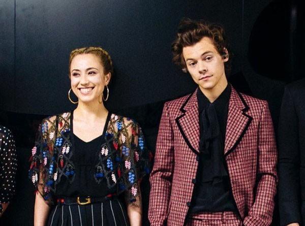 Clare Uchima e Harry Styles (Foto: Instagram)