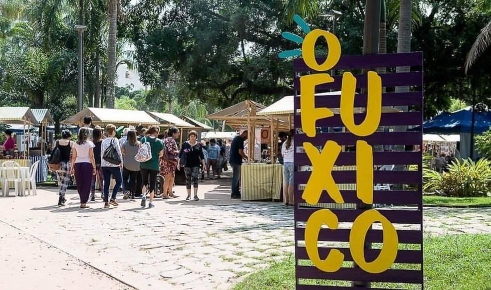 Comerciantes da feira O Fuxico conseguem manter vendas com alternativa digital — Foto: Divulgação