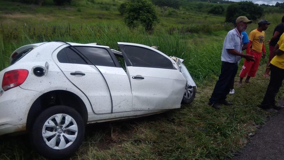 Segundo a PRF, investigações apontam que vítima dormiu ao volante — Foto: Anderson Oliveira/ Blog do Anderson