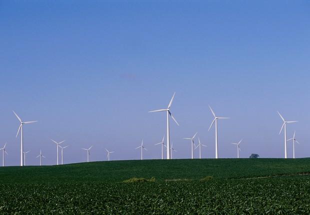 Energia eólica no Brasil (Foto: ThinkStock)