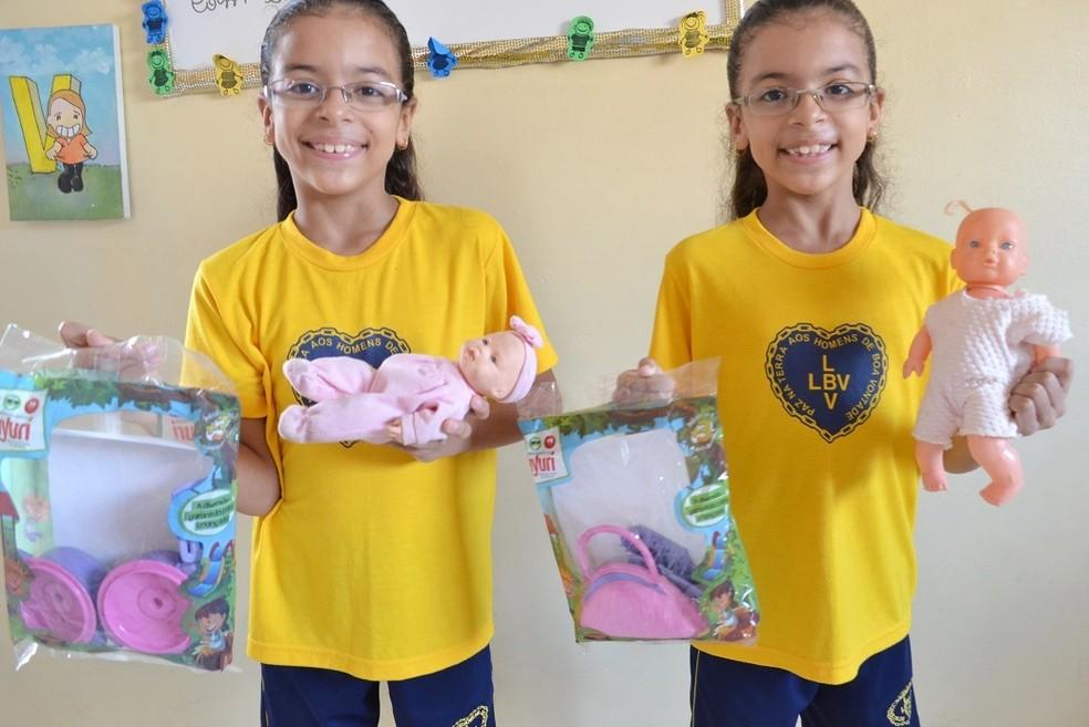 A Legião da Boa Vontade (LBV) preparou um dia especial para festejar o Dia das Crianças — Foto: LBV/Divulgação