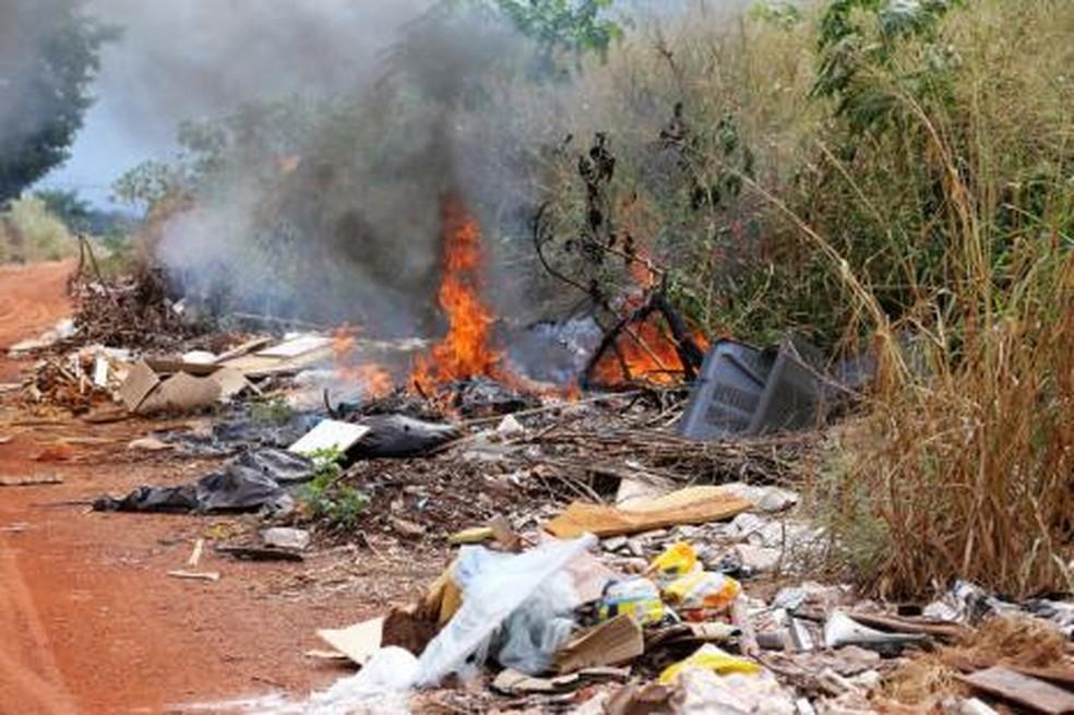 Queimadas serão punidas com multas em Araguaína — Foto: Divulgação