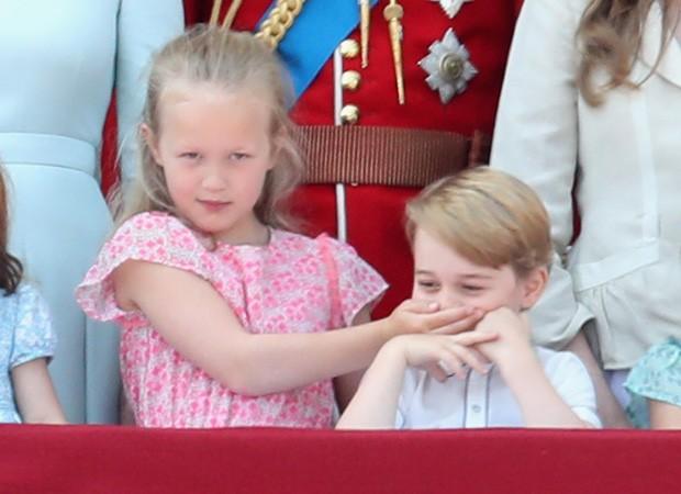 Savannah Phillips e o príncipe George (Foto: Getty Images)